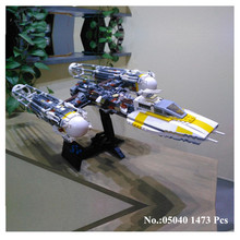 IN STOCK 10134 Star 05040 1473Pcs Series Wars MOC Y wing Attack Starfighter Model Building Kits