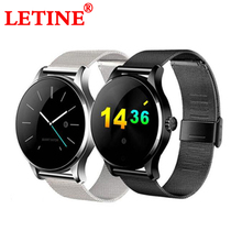 Купить с кэшбэком LETINE Fitness Tracker Smart Watch K88H Men Women Mood Track Touch Screen Clock Wristwatch Phone Connectivity for Android iPhone
