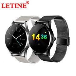 LETINE фитнес трекер Смарт часы K88H для мужчин женщин настроение трек сенсорный экран часы-телефон подключение для Android iPhone