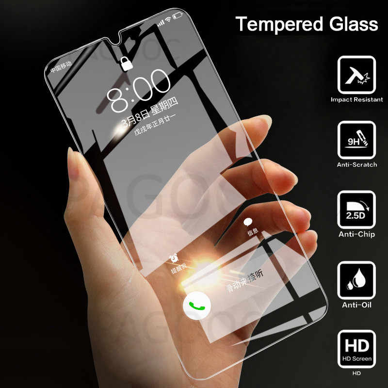 Tempered Glass For Samsung Galaxy A70 A50 A10 A20 A30 A40 A90 A7 A8 Plus 2018 Screen Protector on Samsung M20 M30 M10 Film Glass