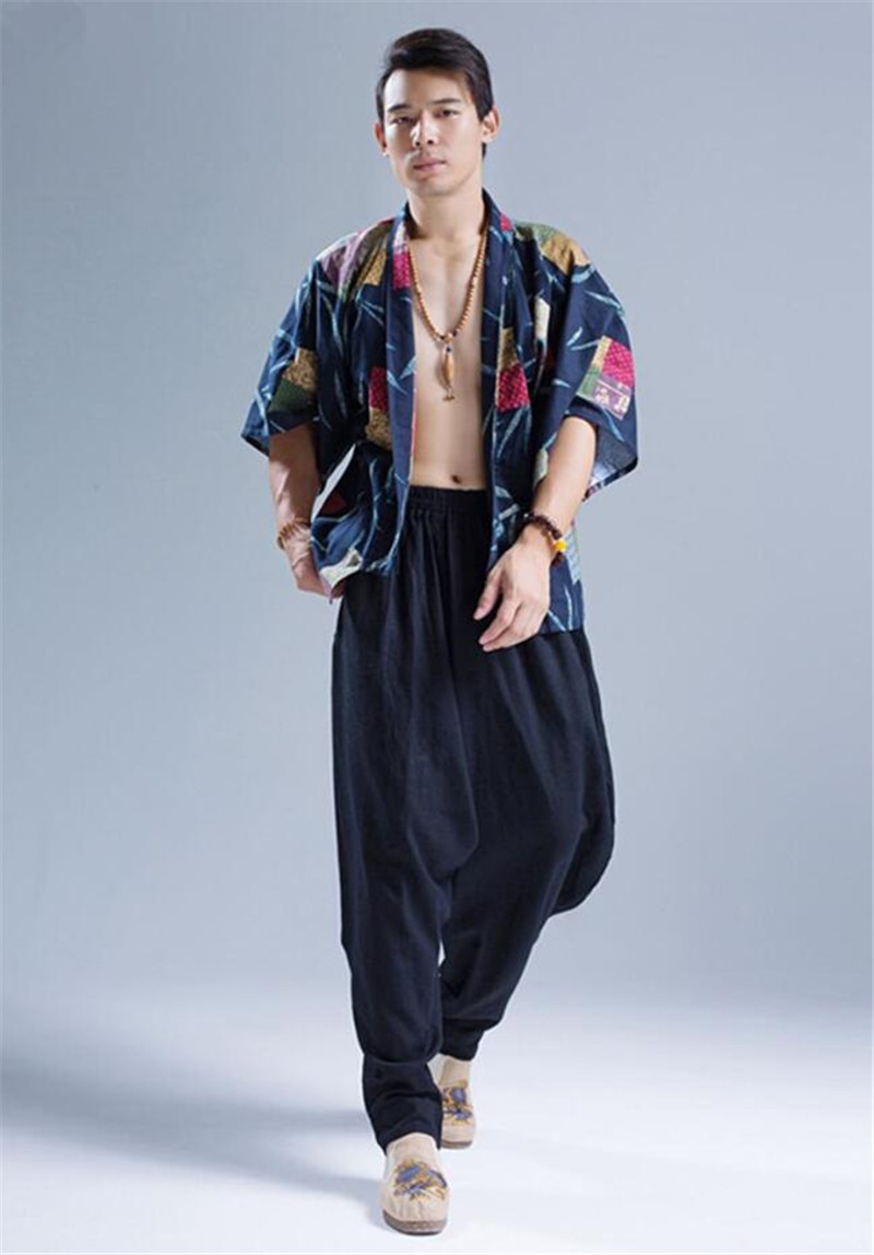 Pantalon Shenzhen noir, chemise japon