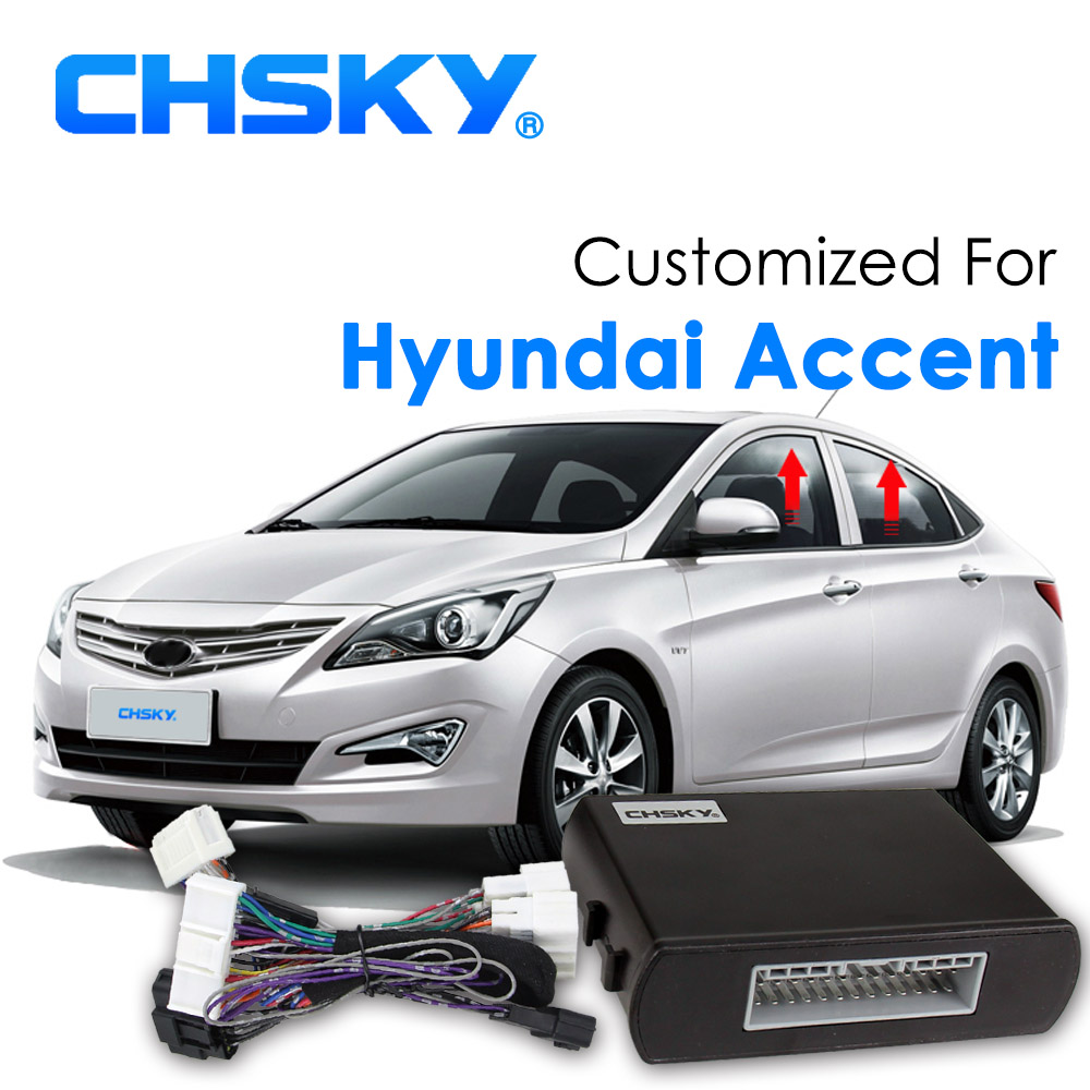 Chsky Auto Car Power Window Roll Up Closer For Hyundai Accent Wiring Alarm Systems Protector Dc 12v Remotely Close The Windows In Intelligent Coser