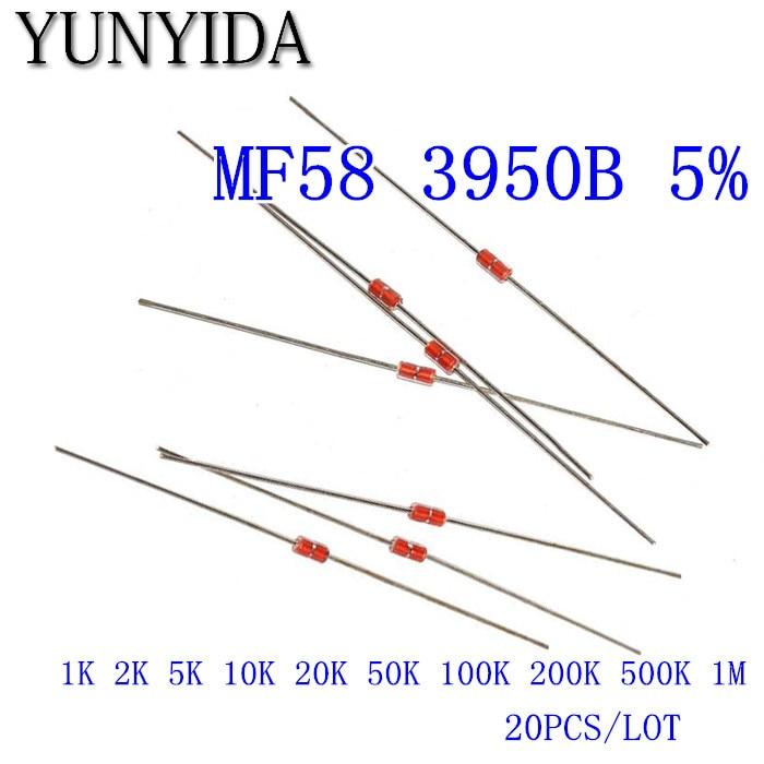 5psc  NTC Thermistor 5k MF52A temperature sensitive resistor