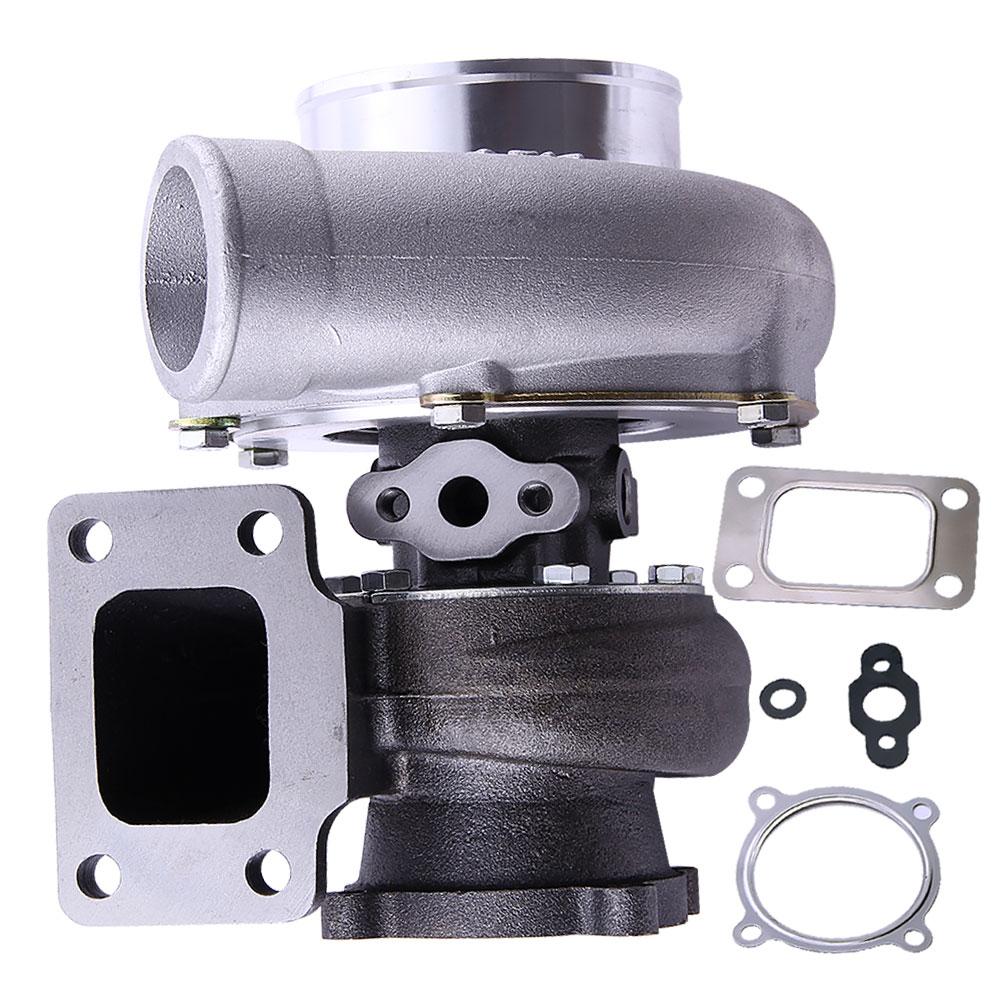 GT3582. 70 a/r compresseur. 63 a/r Turbine arrière T3 bride turbocompresseur Turbolader universal A/R. 70 Anti-surge GT35 Turbo