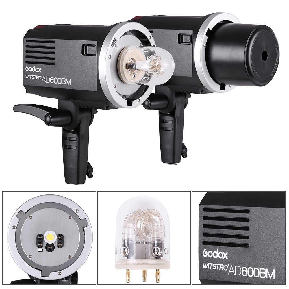 Godox Flash WITSTRO AD600BM Nhấp Nháy Máy Ảnh Flash 600WS GN87 HSS 1/8000 s 2.4G Không Dây Đèn Flash X Hệ Thống với 8700 mAh Li-Ion Pin