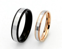 Genuine Fashion Stainless Steel Ring Lovers Ring Girls Rose Gold Ring Ring Wholesale