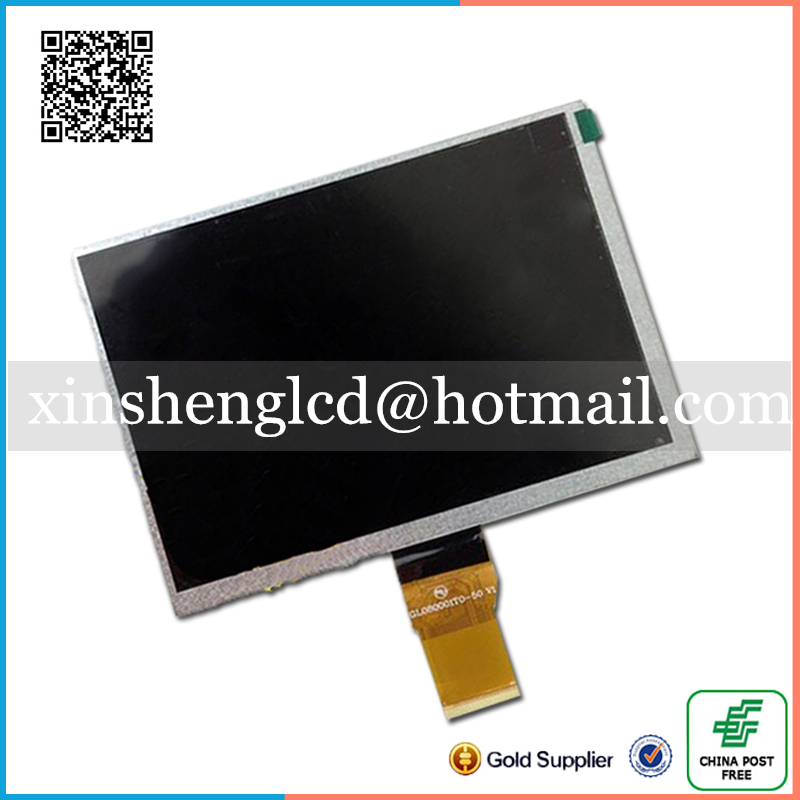 Original new 8 0 inch GL080001T0 50 V1 LCD display for Newman T9 monokaryon Tablet PC