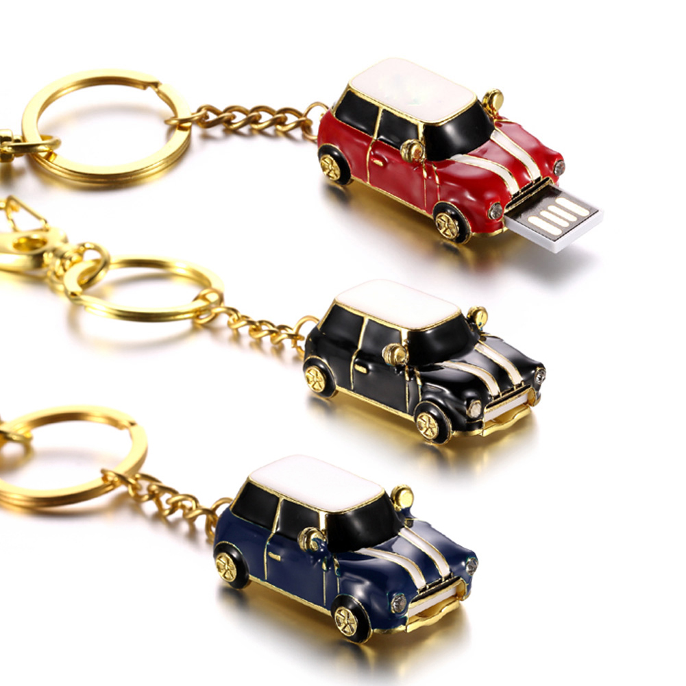 USB Flash Drive Car Shape Pendrive U Disk 16GB/32GB/64GB Pen Driver Mini Memory Stick XXM8