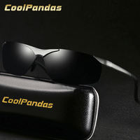 115bcca409 2018 New Fashion Aluminum Magnesium Alloy Men S Sunglasses Polarized  Polaroid Glasses Driving Oculos Gafas Gift