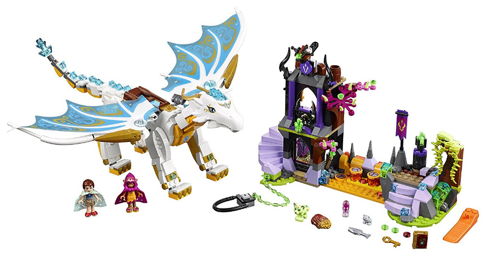 цена на BELA Elves Series Queen Dragon's Rescue Building Blocks Sets Bricks Classic For Girl Friends Kids Model Toys Compatible Legoings