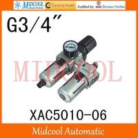 Hoge kwaliteit XAC5010-06 serie luchtfilter combinatie fr. l poort g3/4