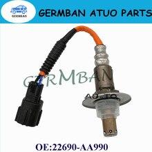 Novo Sensor De Oxigênio ManufactLambda Sensor da Relação Ar Combustível Número da peça #22690-AA990 22690AA990 PARA SUBARU Impreza XV 2.0 Florestal 2.0 1.6