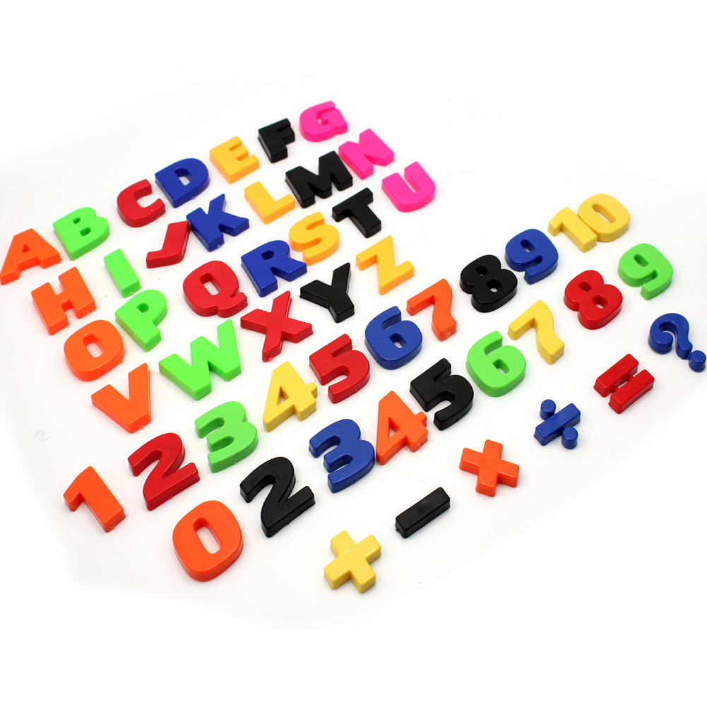 magnetic alphabet letters 52 pcs colorful teaching magnetic letters numbers fridge 23527