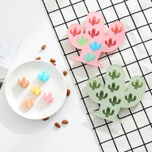 1PCS DIY Cactus Cakes Molds Silicone Mold Fondant Cake Chocolate Candy Biscuit Sugar Baking Kitchen Accessories Tool
