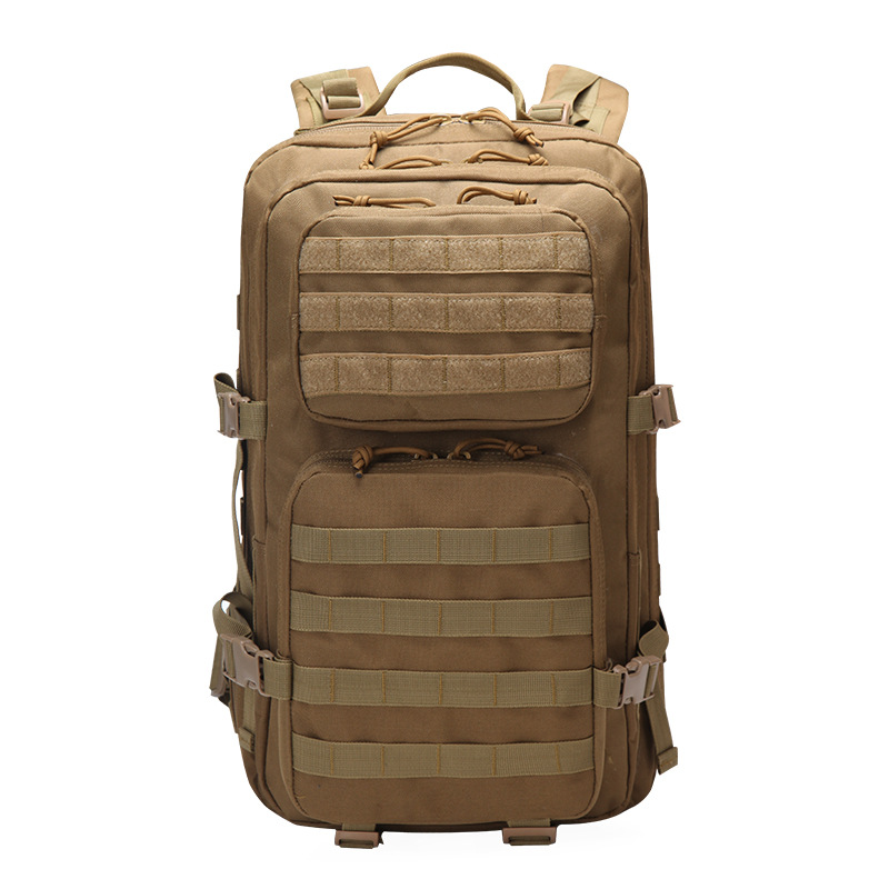 Military Tactical Backpack Large Army 3 Day Assault Pack Waterproof Molle  Bug Out Bag Rucksacks Outdoor Hiking Camping Hunting-in Climbing Bags from  Sports ... b7f1a80ad47b5
