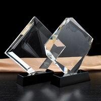 Muziek Dansen Awards Trofee DIY Graveren Crytsal Erkenning Trofeeën en Awards voor Medewerkers Geschenken