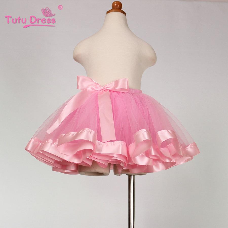 Christmas Sweet Baby Tutu Skirts Baby Girls Fluffy Pettiskirts Skirt Princess Girl skirt Dance ...