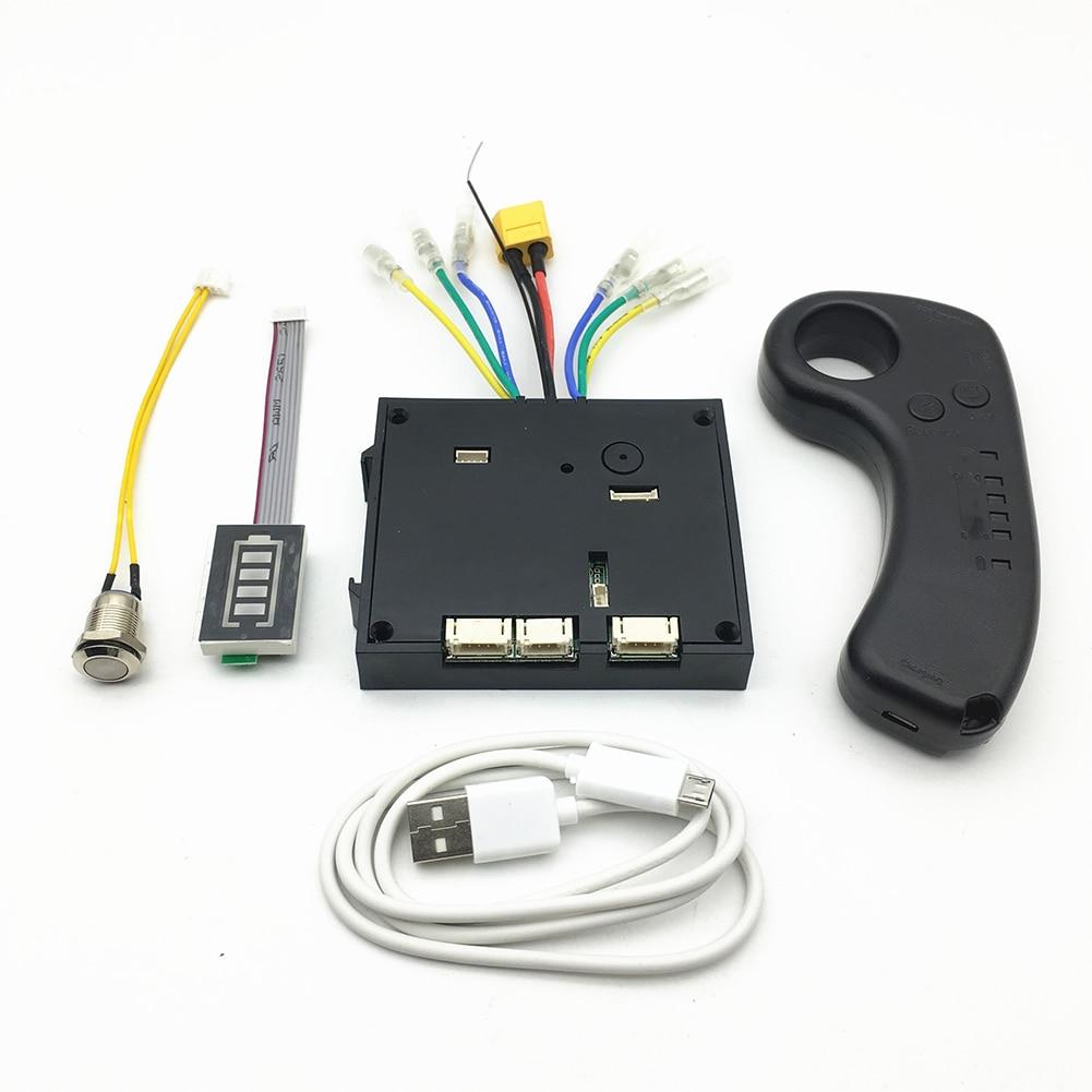 Pièces à distance solides de remplacement contrôleur de planche à roulettes sans brosse Instrument de Scooter double moteurs Longboard de dispositif électrique