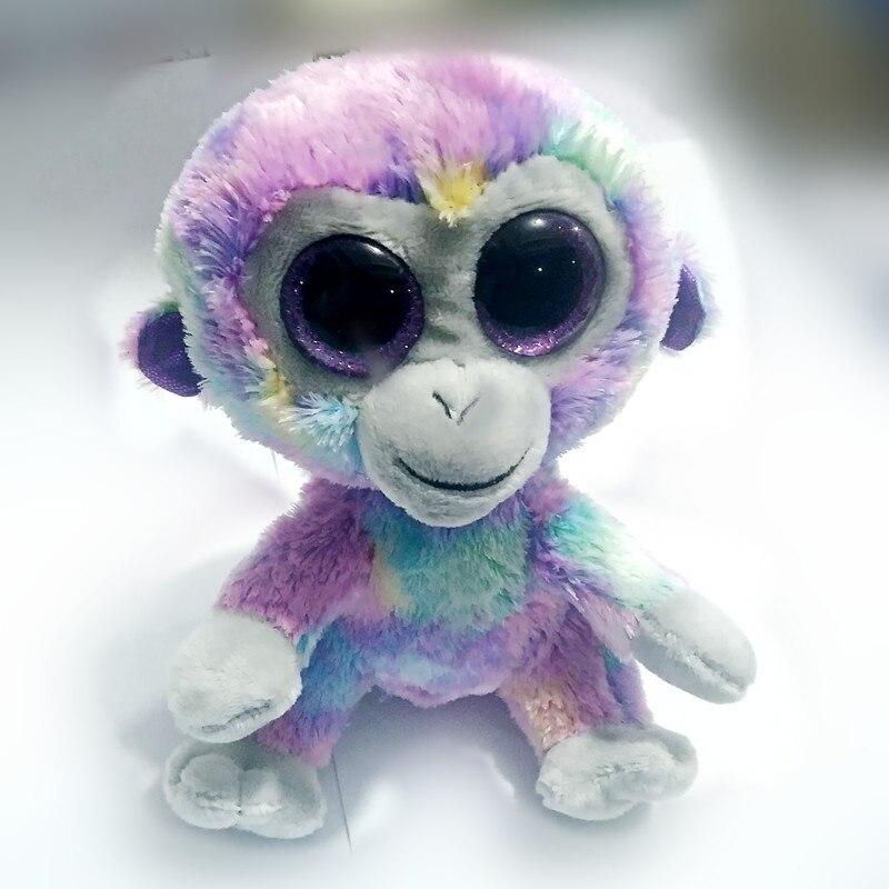 TY Beanie Babies Zuri The Monkey reg 6 Regular