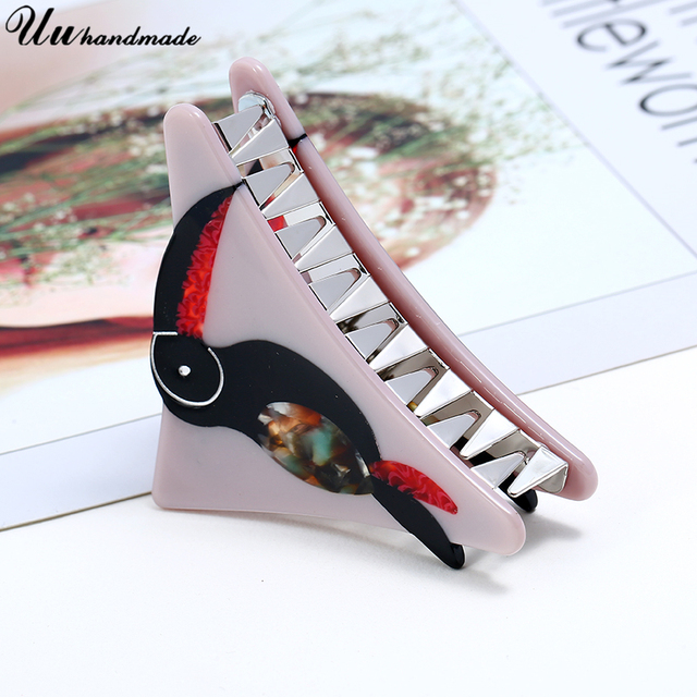 Fashion Acrylic hair clips for women claws wedding bridal accessories jewelry bride pins tiaras decoration pin hairpin 2018