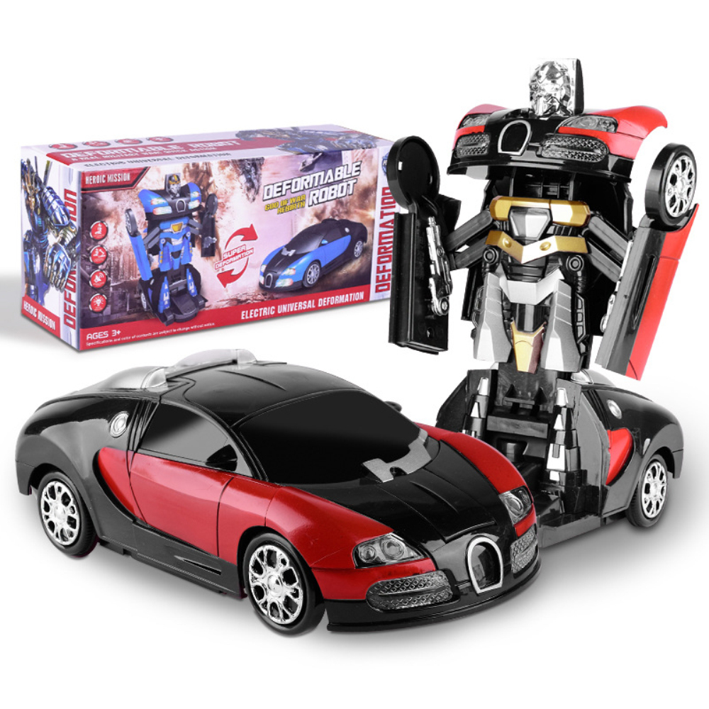 Electronic Transformer Robot Toy Car 14