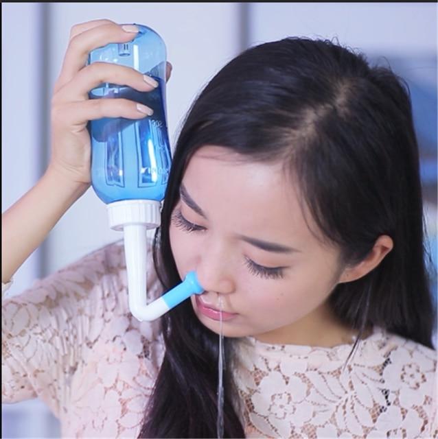 Для взрослых детей нети горшок стандартная носовая сетка стирка йога Детокс синусит неаллергенный для мытья носа 300 мл
