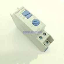 DHC18 Din Rail Stair Lighting Automat Timer 220V 16A Staircase Time Delay Switch DHC 18