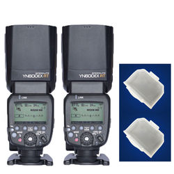 2PCS YONGNUO Flash Speedlite YN600EX-RT for Canon AS  600EX-RT