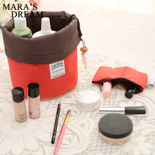 Maras Dream Barrel Shaped Travel Cosmetic Bag