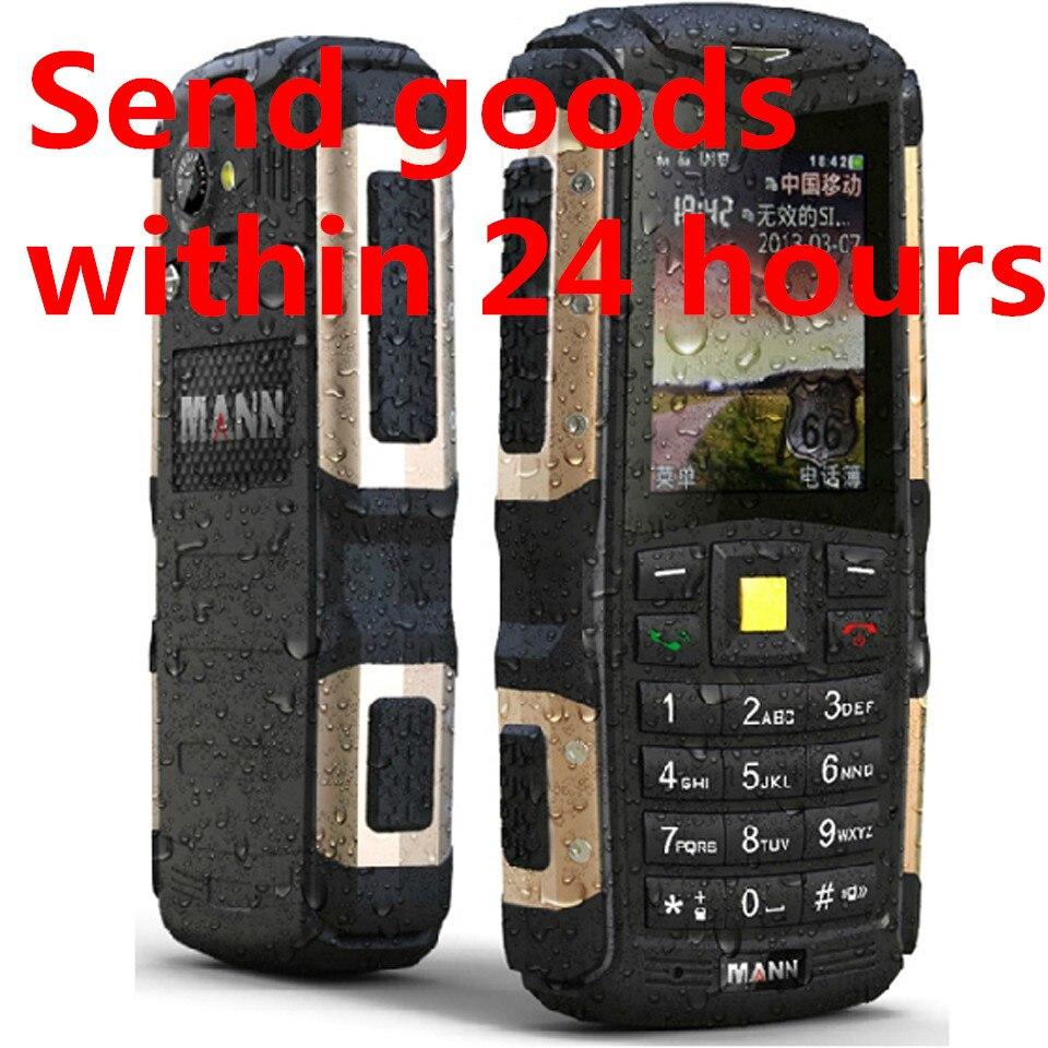 Original MANN ZUG S 2 0 IP67 Waterproof mobile phone dustproof shockproof Outdoor phone Old Man