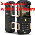 """Originales mann zug s 2.0 """"IP67 A Prueba de agua teléfono móvil a prueba de polvo a prueba de choques Al Aire Libre Anciano Resistente Dual SIM 3G WCDMA teléfono celular"""