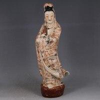 Древесины глазури узор Гуаньинь Будды чтобы отогнать неудачу талисманы античные любопытная