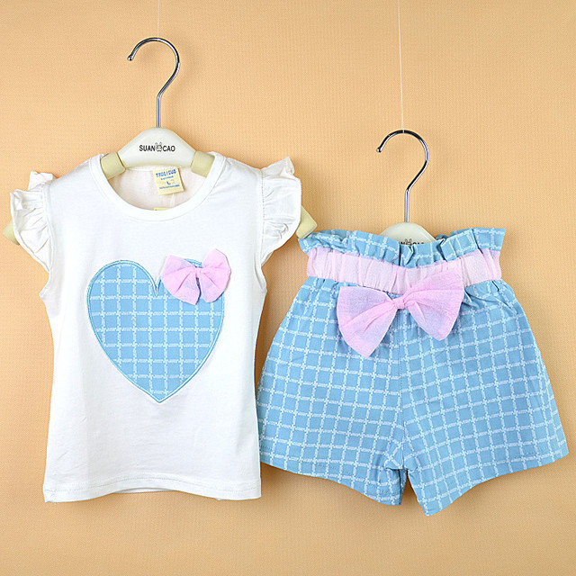 25470d777 1 3 year old girls summer style suits baby girls clothes infant ...