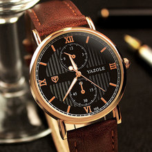 цены Yazole Wrist Watch Men Watches 2016 Top Brand Luxury Famous Wristwatch Male Clock Quartz Watch Relogio Masculino Hot