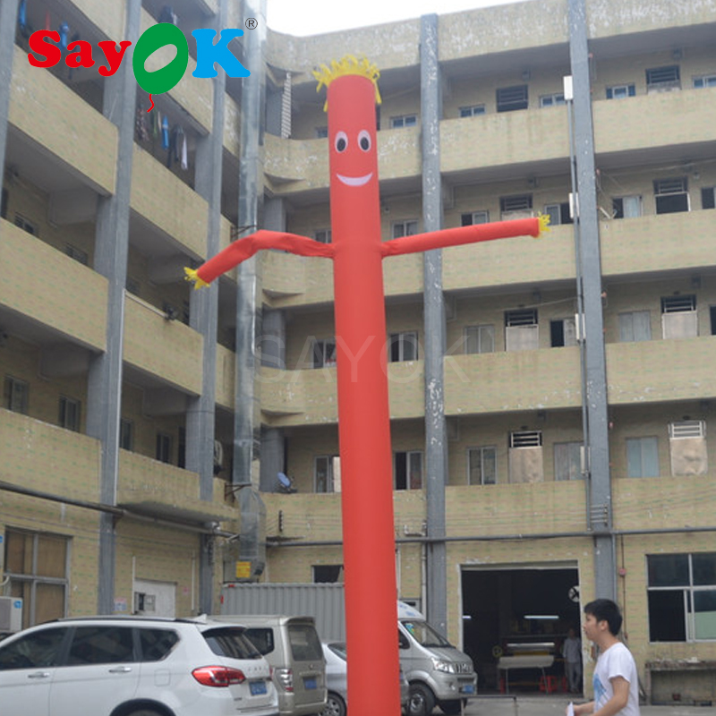 2017 Hot sale cheap 6m(20ft) Inflatable Tube Sky Dancer Air Dancer NO blower cheap sale hydration water bladder bag cleaning tube hose sucker brushes drying rack set