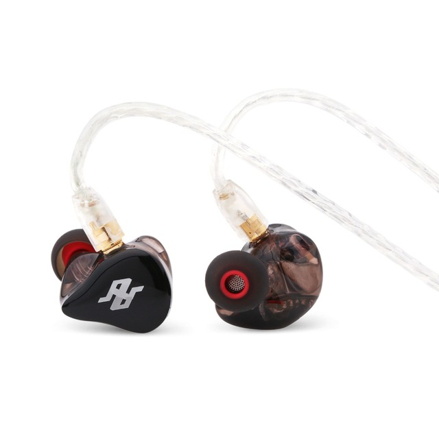 TENHZ P4 PRO 4BA Balanced Armature HIFI In-Ear Earphone In-Ear Monitor with MMCX Detachable Cables