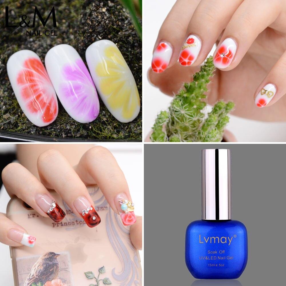 Blossom Gel Nagellack Helle Farben DIY Nail art Lvmay Schönheit ...