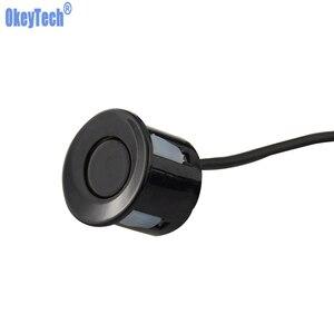 OkeyTech 1PC Monitor System Car Parking Sensor Car Reverse Ultrasonic Radar Detector System Car Reverse Assistance Backup System