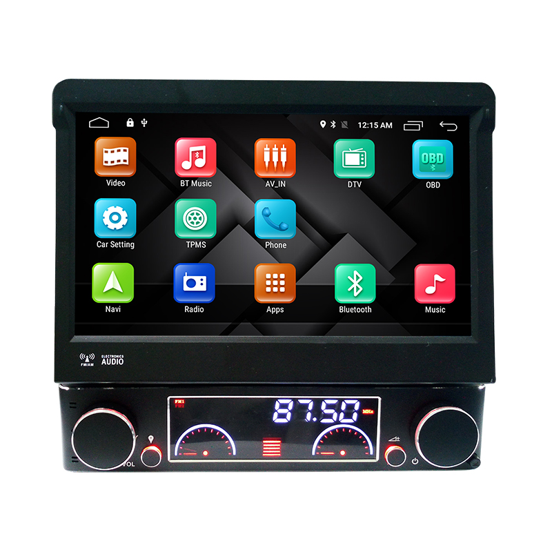 7″ Quad Core Android 4.4.4 Single One 1 Din Android Universal Car Stereo Audio Head Unit Headunit Autoradio 3G WIFI DVR