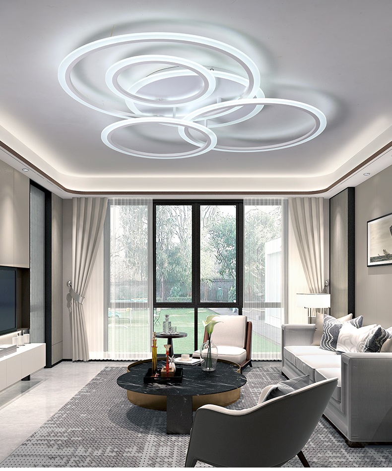 Plafondlamp moderno led luz de teto para