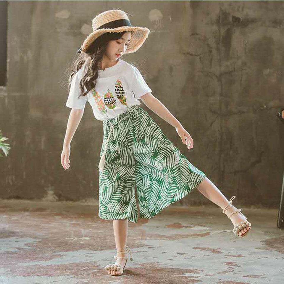2pcs set cute baby girl clothes 2019 summer toddler kids