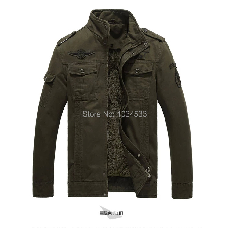 bomber jacket Picture - More Detailed Picture about 101 Airborne ...