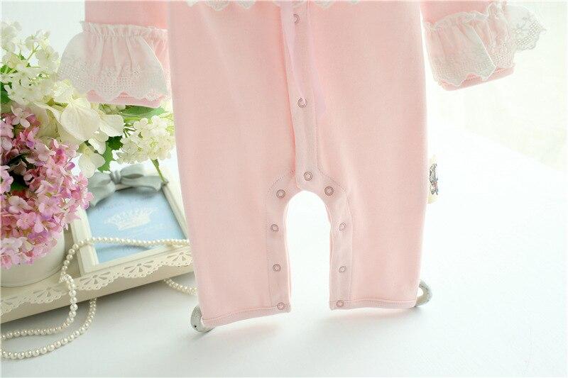 f6bb63cee18c Newborn Baby Girl Clothes photography Set Autumn Cute Cotton Long ...