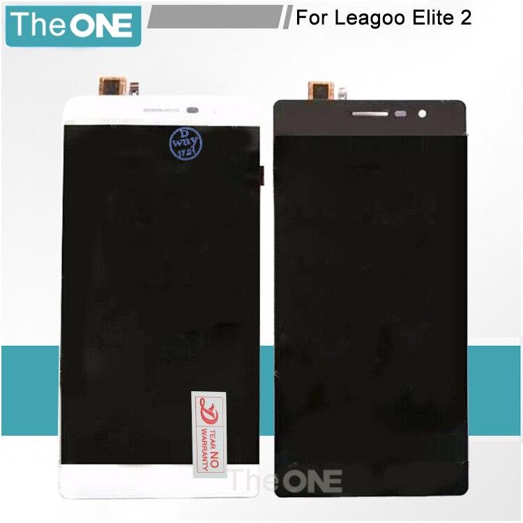 For LEAGOO elite 2 Display Original LCD Screen+Touch Screen Digitzer Panel Glass Repair For LEAGOO Elite 2 1280x720 HD 5.5inch батут sport elite r 1280 36