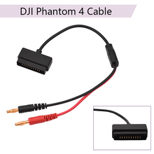 Buy B6 Balance Charger Connector Adapter Charging Cable Transfer Line for DJI Phantom 4 Fast Charging Cable Line Drone Accessories directly from merchant!
