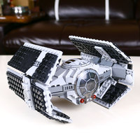 05030 LEPIN 722Pcs Star Wars Vader Tie Advanced VS A Wing Starfighter 75150 Building Blocks Compatible