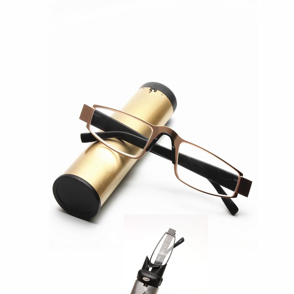 menu0027s business folding anti fatigue reading glasses high grade foldable pocket presbyopia reader hyperopia eyewear with case