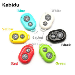 Kebidu Universal Wireless Camera Bluetooth Shutter For iPhone IOS