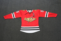 Sublimation Polyester Custom Ice Hockey Jerseys China