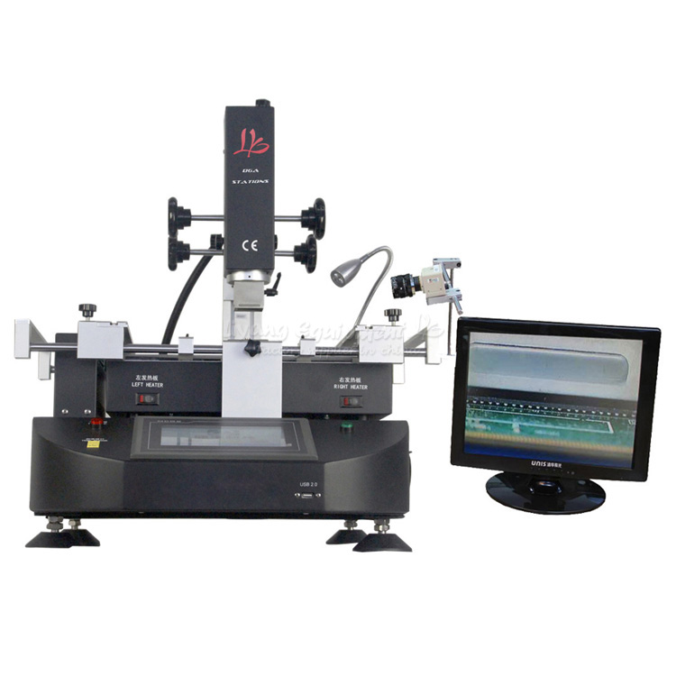 LY-5830C touch screen BGA Rework Station Soldering machine hot air 3 zones for Laptop Motherboard Chip Repair